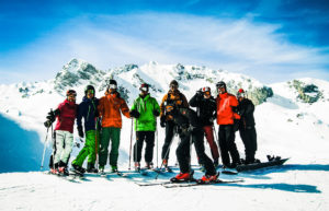 Ski Instructor Thomas and Friends