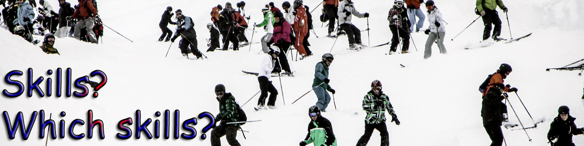 ….the downfall of skiing!
